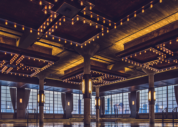 Houston Wedding Venue, Downtown Industrial Space