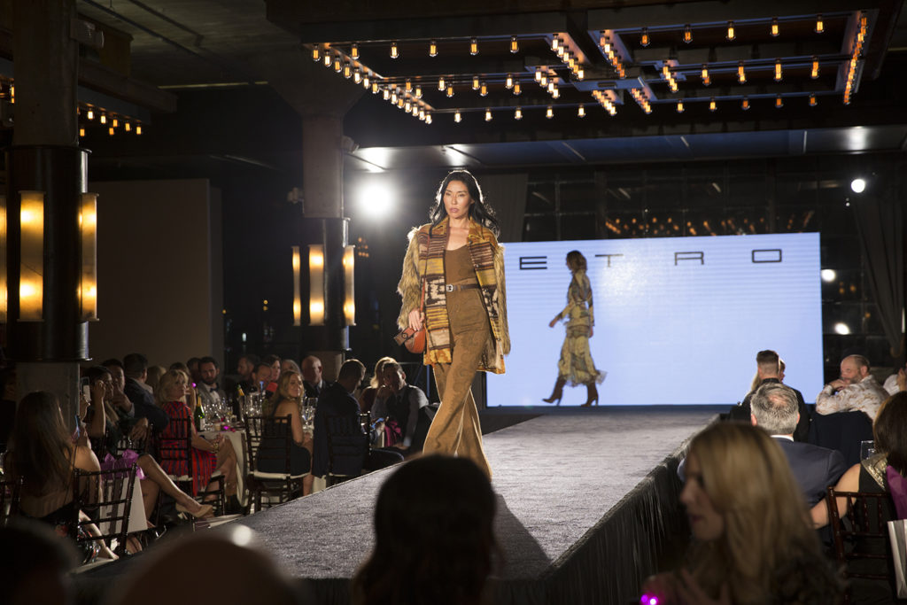 luxury event fashion show