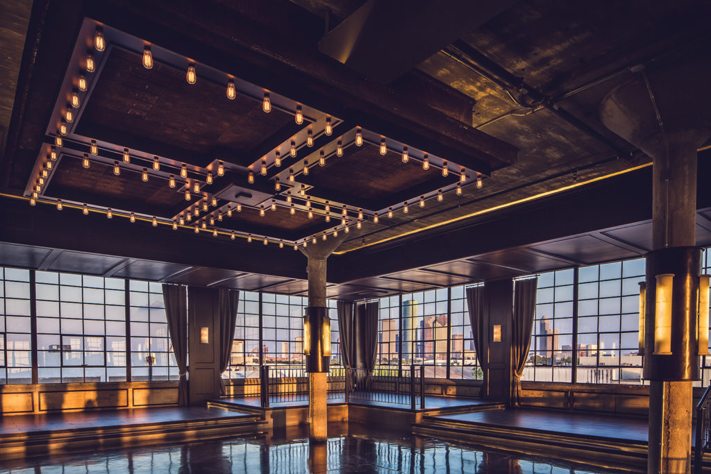 historic houston venue - views of downtown