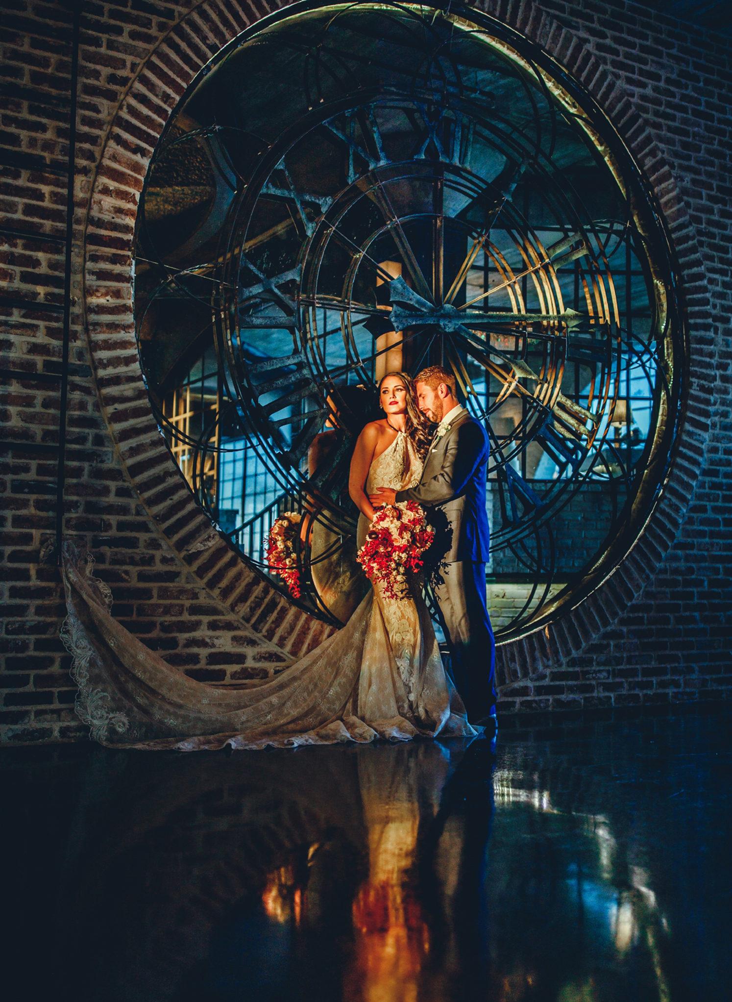 Houston Wedding Venue - Clock